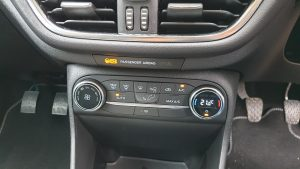 Ford Fiesta Demister/Heater controls