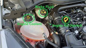 Ford Fiesta Under Bonet